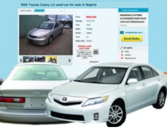 nigerian custom online car auction fraud