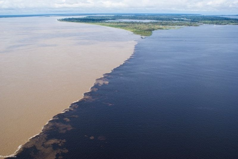meeting of the waters, meeting of waters, the meeting of the waters, amazon meeting of the waters, meeting of the waters amazon, encontro das aguas, rio negro and amazon river, amazon river meets black river