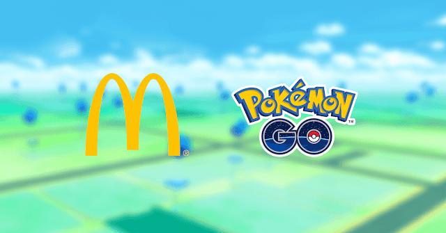 Parceria Pokémon GO e McDonald's no Brasil