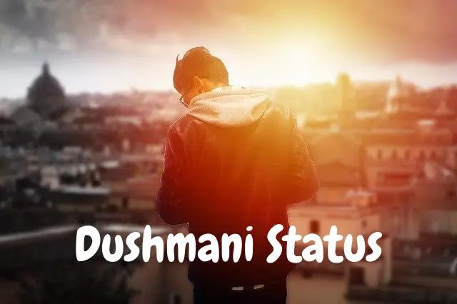 Dushmani Attitude Status, Shayari in Hindi