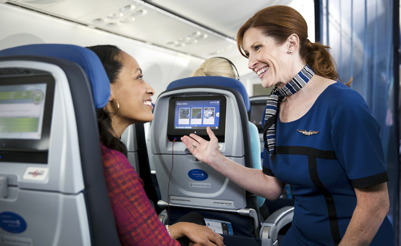 United Adds Incentive for Flight Attendant Buy-Out