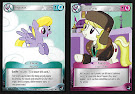 MLP Blue Pegasus, Pink Earth Pony Token High Magic CCG Card