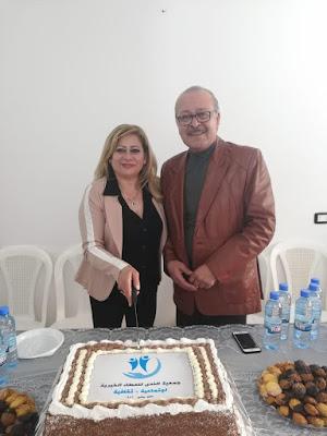 بالصور د كتورة ندى بغدادي تفتتح مقر جديد لجمعية الندى  وتنظم احتفال بعيد الام