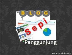Blog Sepi Penggunjung