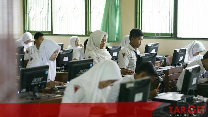 Pelaksanaan UNBK SMP Lancar, Wabup Apresiasi Kesiapan Sekolah