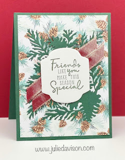 14 Stampin' Up! Painted Christmas Suite Projects + Sunday Stamping Video ~ www.juliedavison.com #stampinup #sundaystamping #juliedavison July-December 2021 Stampin' Up! Mini Catalog