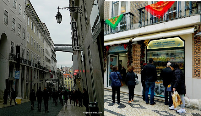 Lisboa - Armazéns do Chiado e Rua Augusta