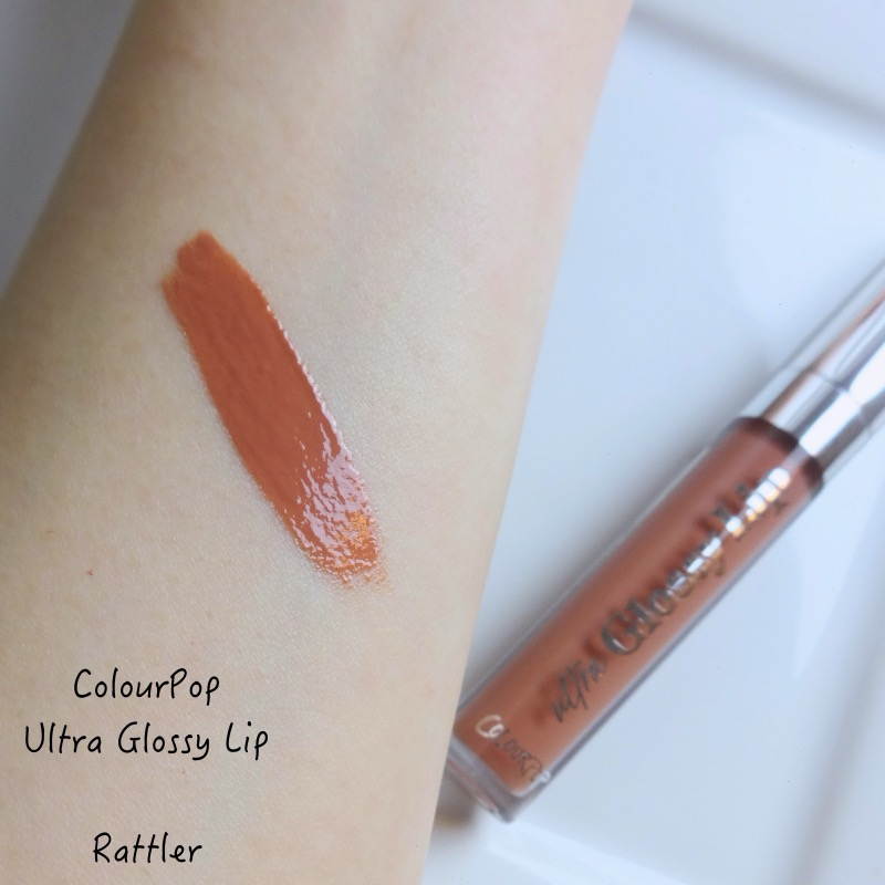 ColourPop Ultra Glossy Lip Rattler swatch review