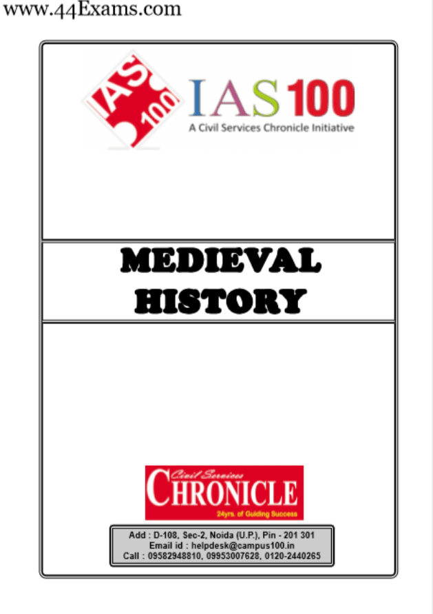 Medieval-History-by-Chronicle-IAS-Academy-For-UPSC-Exam-PDF-Book