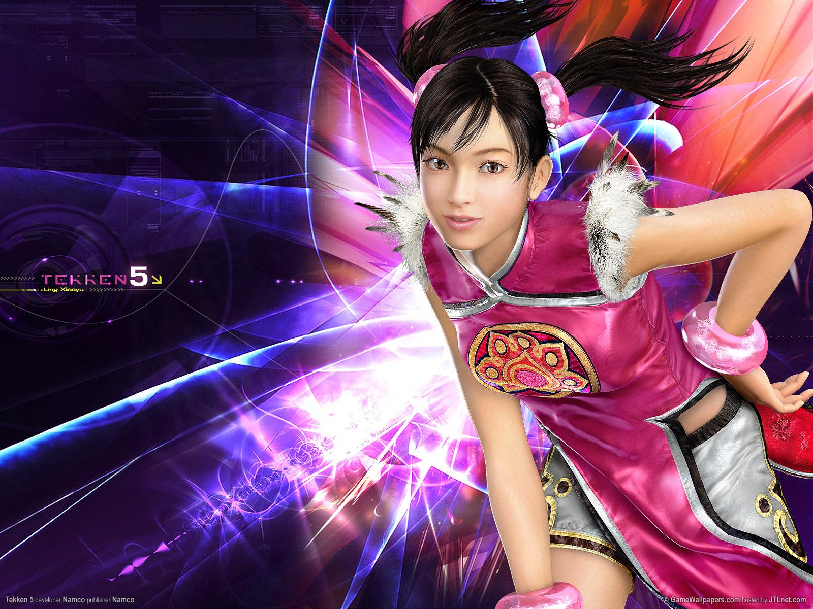 Tekken 5 Ling Xiaoyu