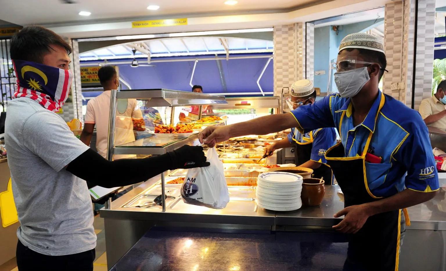 Dine-In Di Restoran Tidak Dibenarkan Sepanjang Tempoh PKP Berlangsung