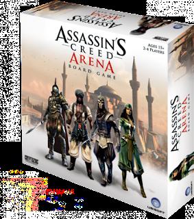 Assassins Creed arena el juego de tablero