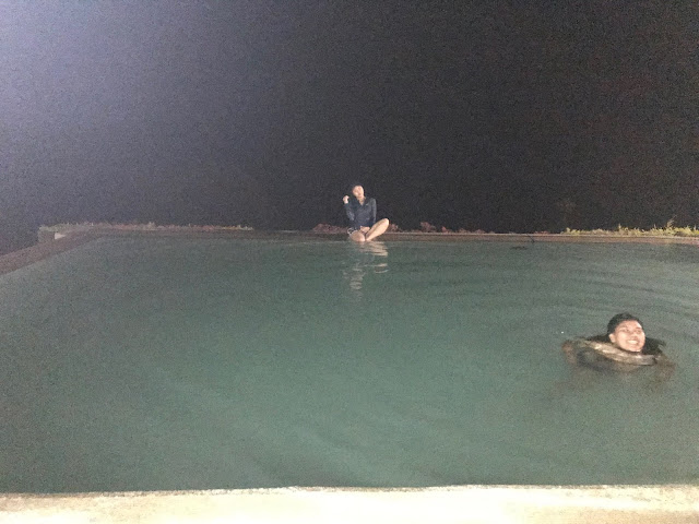 Night Swimming at Vista Tala Hotel Bataan