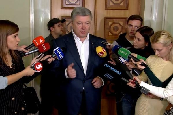 """""""Спочатку скажіть, куди ви підете"""" - Порошенко прокоментував заяву Пристайка про вихід з Мінських угод"""