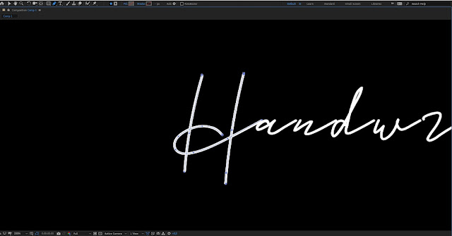 Cara Membuat Animasi Handwriting di After Effects
