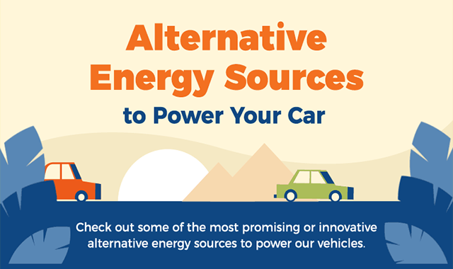 Alternative Energy Sources To Power Your Car #infographic