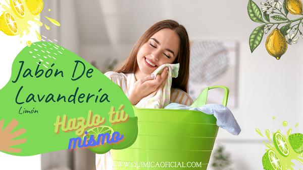 Hacer detergente líquido para lavandería limón ecológico