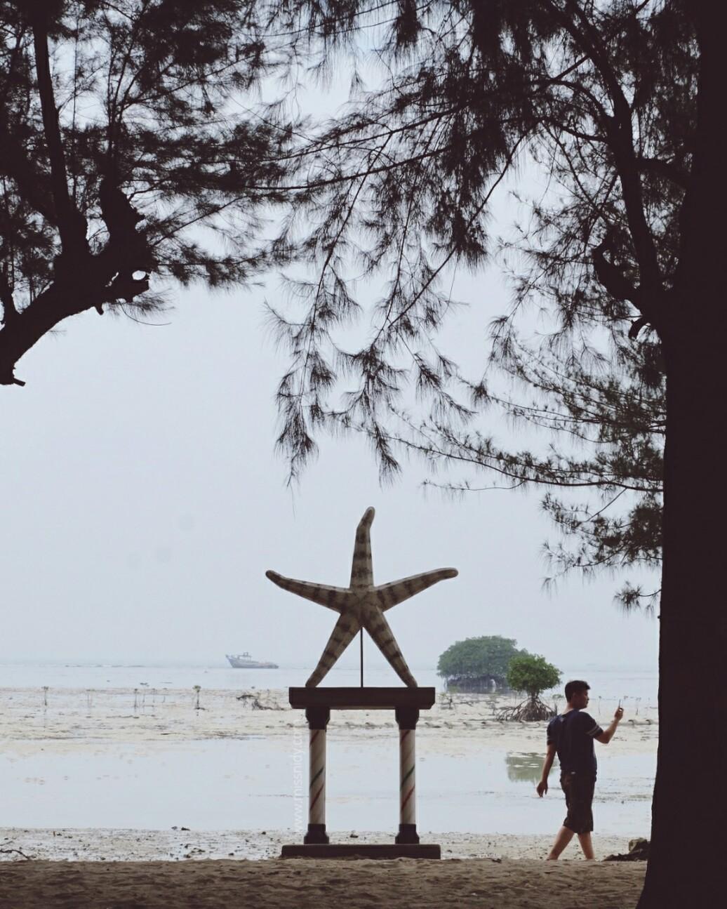 pantai bintang kepulauan seribu