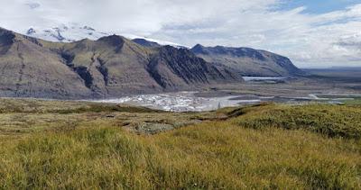 Parque Nacional Skaftafell. Vistas sobre el glaciar Skaftafellsjökull