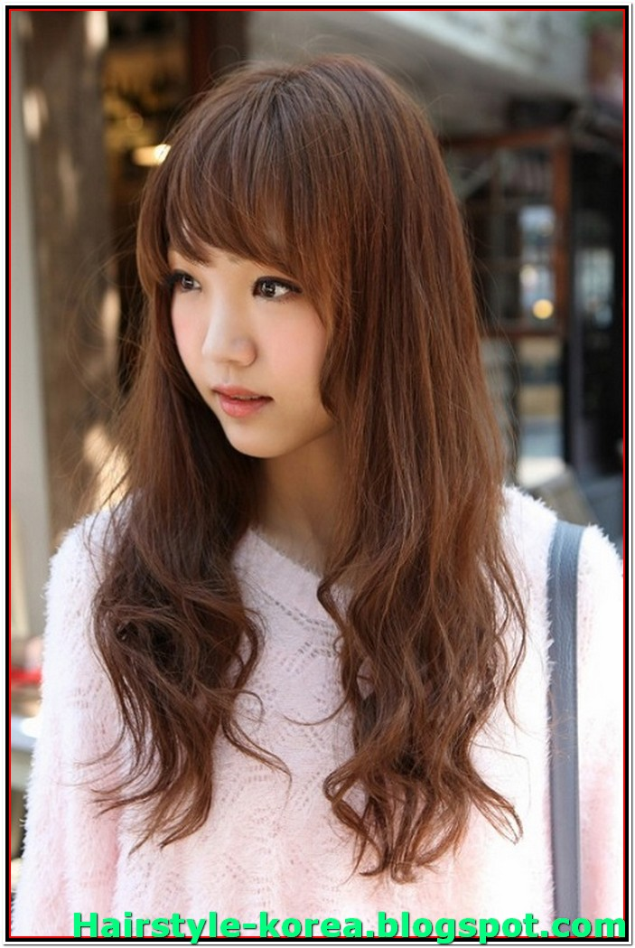 25 Best korean hairstyle for women long hair 2017 ...