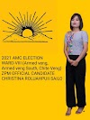 AMC Councillor a tling thei naupang ber Christina Roluahpuii