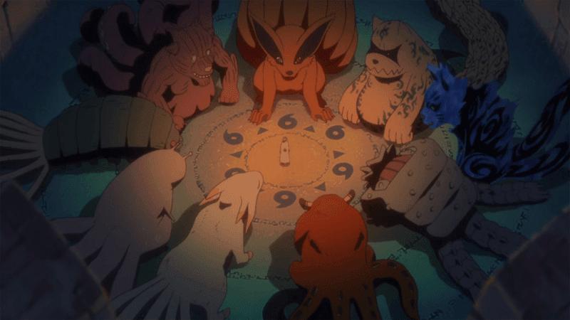 9 bijuu dalam anime naruto
