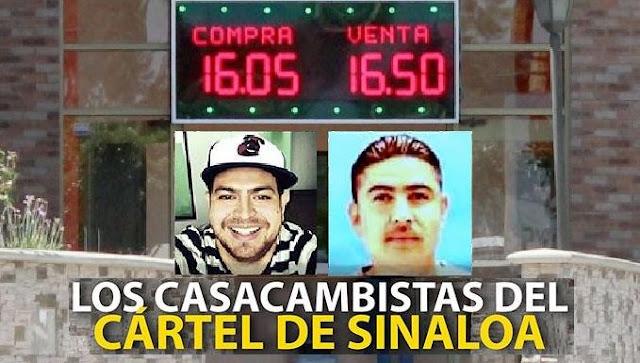 """Sentencian a Los """"Casacambistas"""" del Cártel de Sinaloa por lavar 20 mdd"""