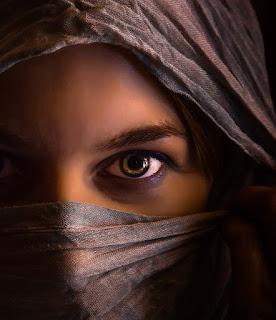 Beautiful Eyes DP in Niqab