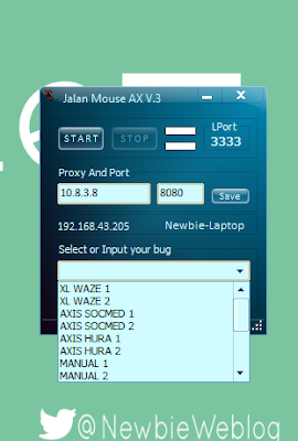 Inject Axis Jalan Mouse AX V.3 100% Work