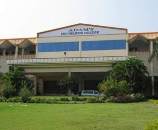 Adams Engineering College Paloncha Khammam District Fees Format and Ranking Details