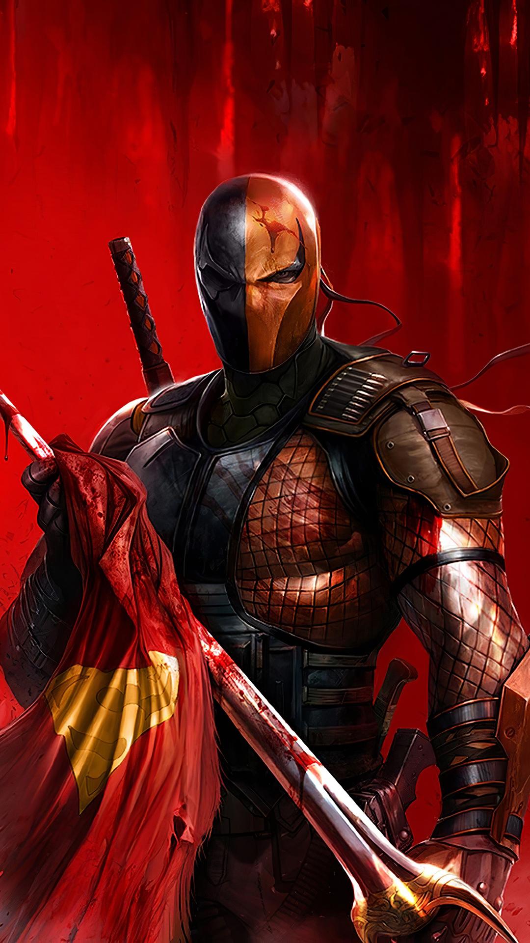 Wallpaper Deathstroke Superheroes Artwork Hd 4k