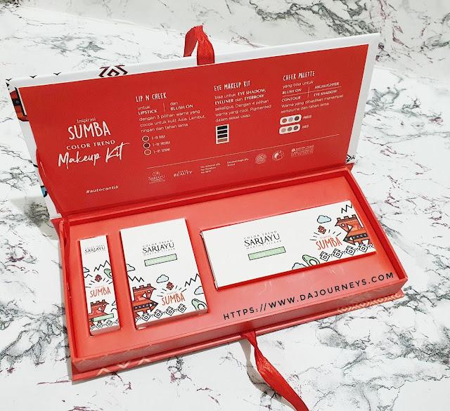 Review Sariayu Trend 2020 Inspirasi Sumba Makeup Kit