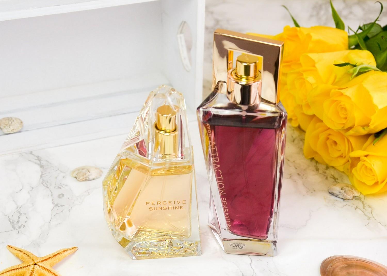 Summer 2019 Goodies From Avon | Perceive Sunshine Eau de Parfum and Avon Attraction Sensation Eau de Parfum