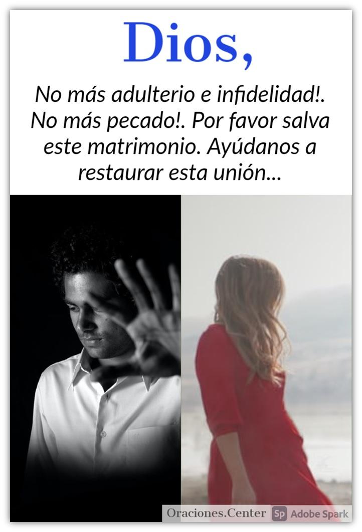 Oración contra el Adulterio e Infidelidad