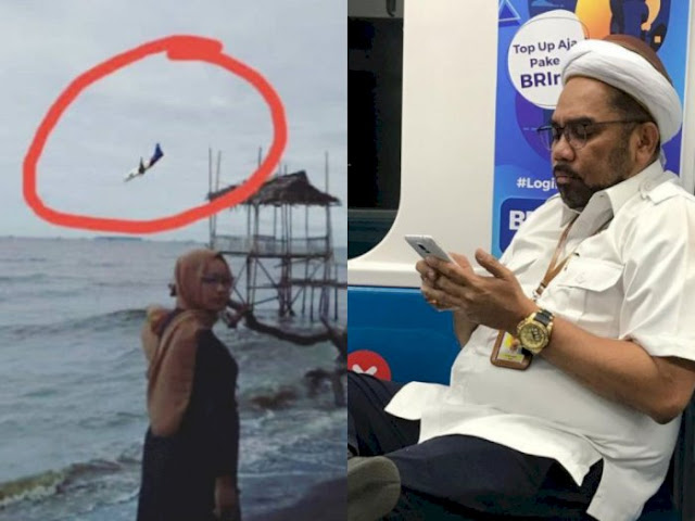 Unggah Foto Editan Sriwijaya Air Jatuh, Ngabalin Hapus Cuitan lalu Minta Maaf