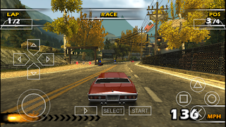 Game Burnout Dominator ISO PPSSPP