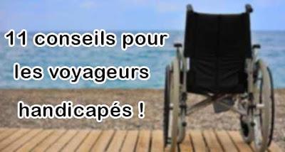 conseils pour voyageurs handicapés