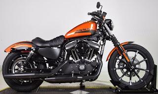 883 iron 2020 orange