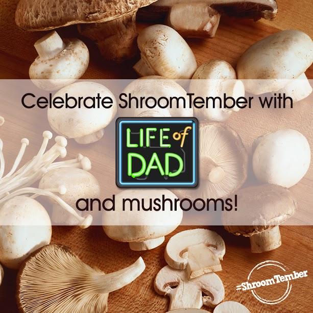 Mushroom and Pesto Pizza #Shroomtember