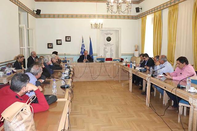 Να εντείνουν τους ρυθμούς των έργων του ΠΕΠ κάλεσε τους δημάρχους ο περιφερειάρχης Πελοποννήσου