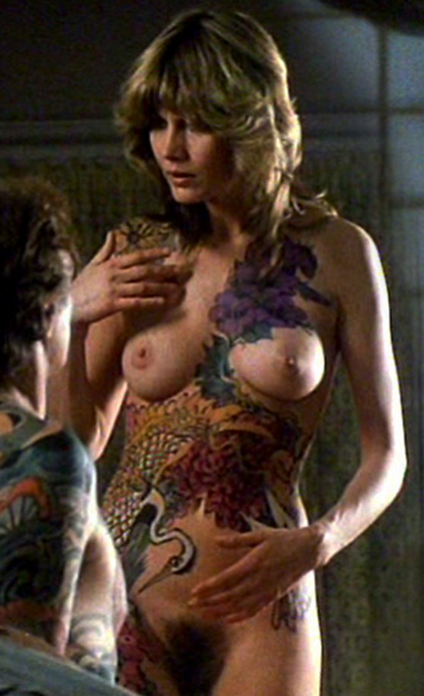 You nude nipples of bond girls