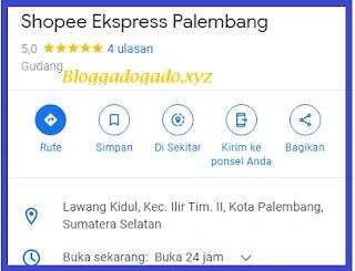 Alamat dan nomor telepon , cek resi shopee express palembang