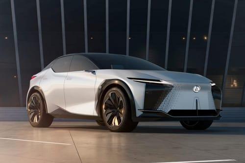 Lexus LF-Z introduces the next electric vehicle