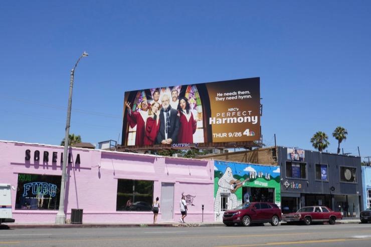 Perfect Harmony NBC series billboard