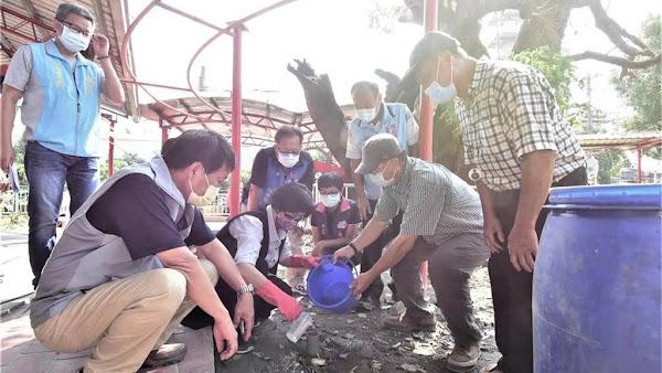 彰化縣搶救茄苳公神樹大作戰 樹醫生治療與祈福集氣