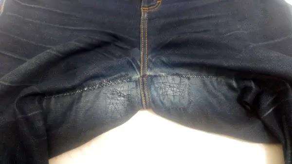Como consertar fundo calça jeans