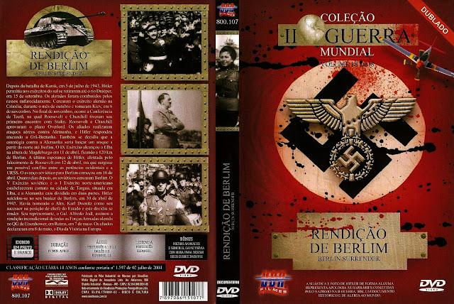 Capa DVD Rendição De Berlim