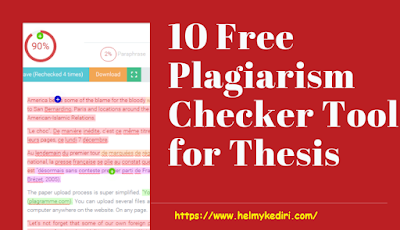 Situs Cek Plagiarisme Terbaik, Terpopuler dan Gratis