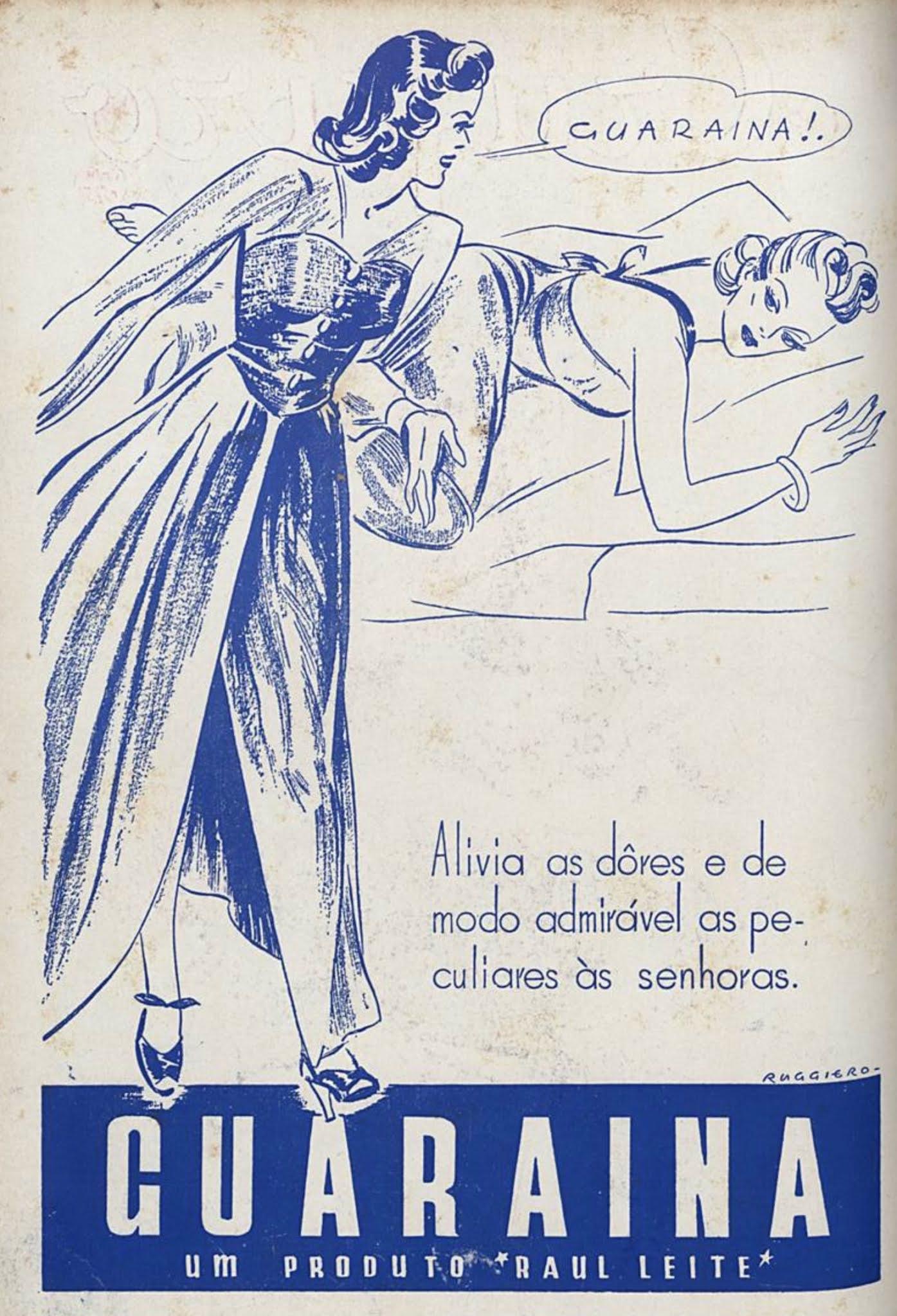 Propaganda antiga do Guaraína veiculada em 1943