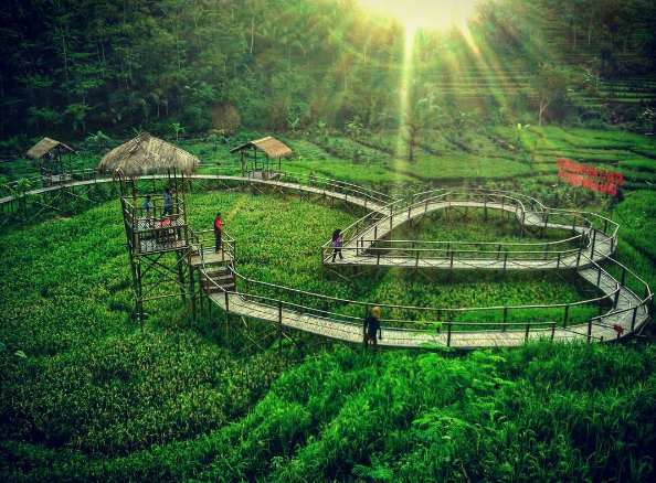 Jembatan Cinta Pring Wulung